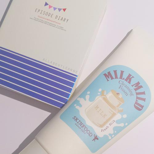 Skinfood Milk Mild Cleansing Foam