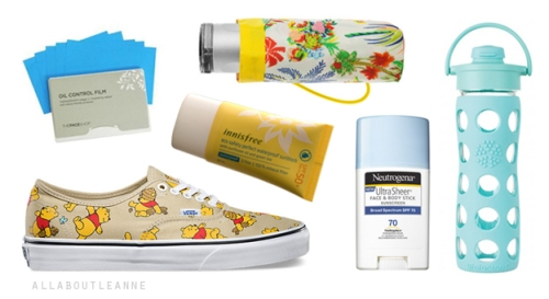 Seoul Summer Vacation Must-Haves