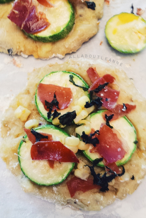 Summer Squash Pizza with Sweet Potato Crust
