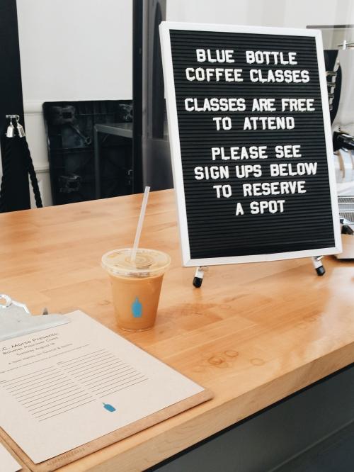 Class Signups at W.C. Morse Café
