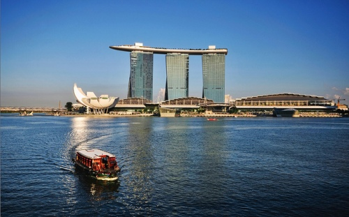 Marina Bay Sands by William Cho (Flickr)