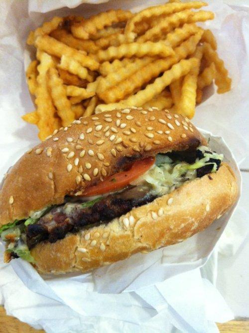 Mushroom Burger by Mari H.