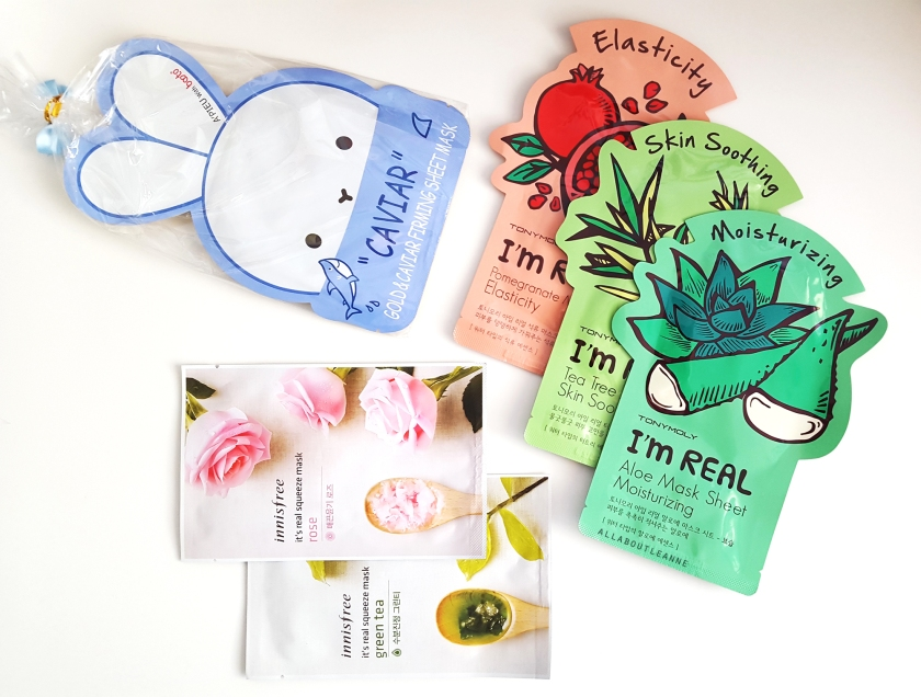 Beauty Box Korea Sheet Masks