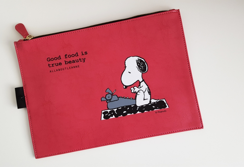 Skinfood x Snoopy Limited Edition Clutch