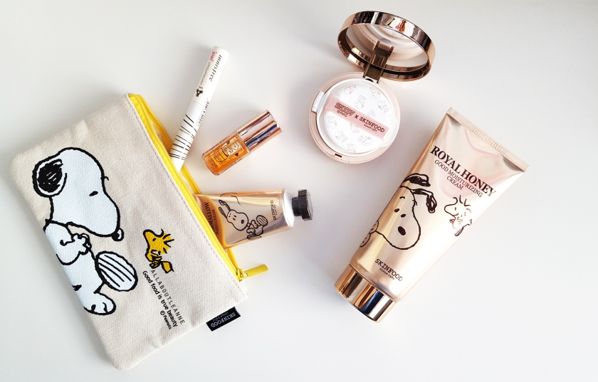 Beauty Box Korea Skinfood x Snoopy Limited Edition Value Set