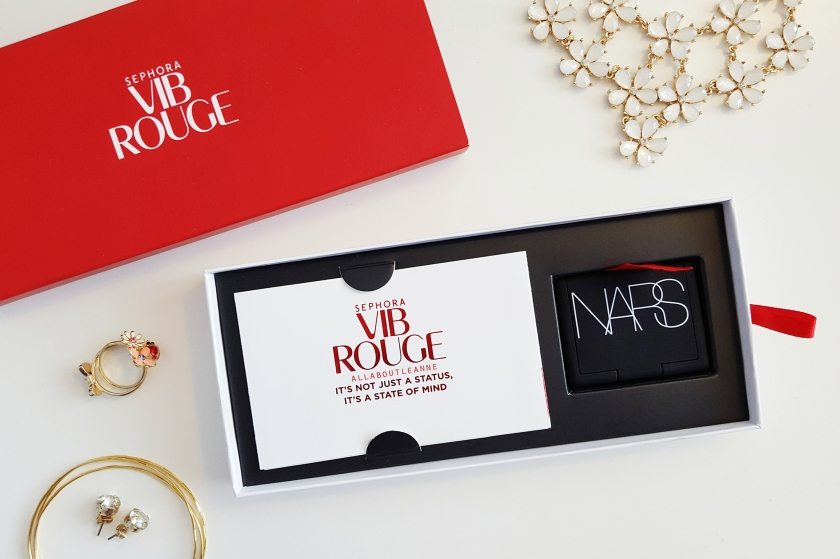 Sephora VIB Rouge 2016 Welcome Gift