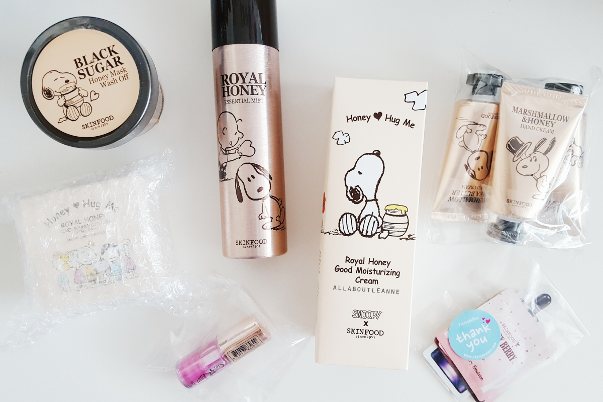 Tester Korea Review, featuring Skinfood x Snoopy Haul