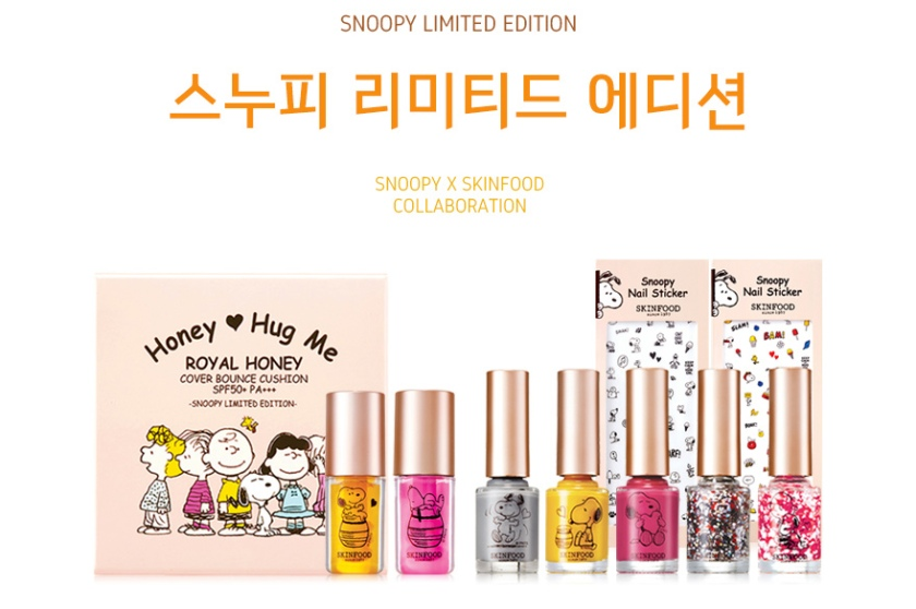 Skinfood x Snoopy Limited Edition Makeup