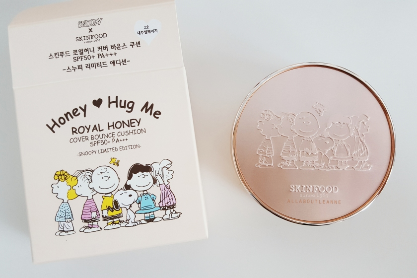 Skinfood x Snoopy Royal Honey Cover Bounce Cushion